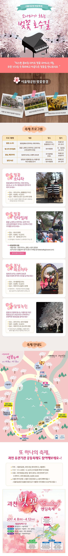 2017 서울대공원 벚꽃축제, 소나타가 흐르는 벚꽃 호수길