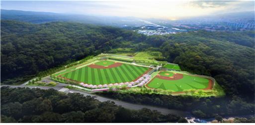 서울대공원 야구장 모습